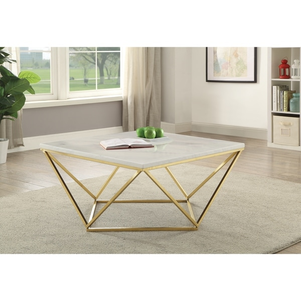 Overstock White Coffee Table.Modern White Coffee Table
