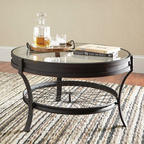 Industrial Black Coffee Table