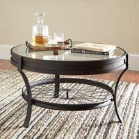 Industrial Black Coffee Table