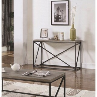 Industrial Sonoma Grey Sofa Table