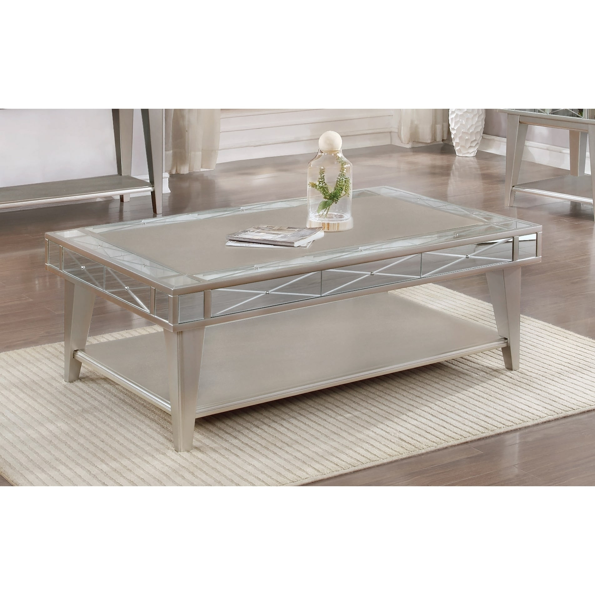 Mirrored Side Table Blingy And Beautiful Brand New