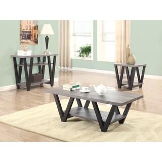 "Mid-century Modern Black Coffee Table - 47.25"" x 23.25"" x 16.50"""