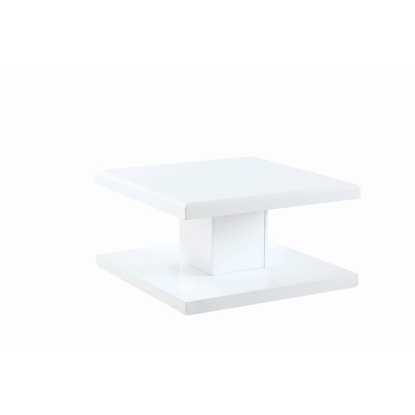 Overstock White Coffee Table.Shop Contemporary White Coffee Table With Swiveling Top Free