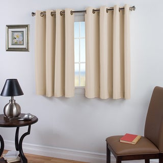 Elegance 45 inch Length Grommet Insulated Panel with Attachable Wand in Ivory (As Is Item)