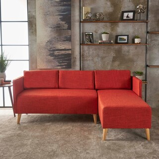 Augustus Modern 2-piece Chaise Sectional Sofa Set by Christopher Knight Home