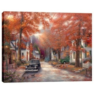 "Cortesi Home ""A Moment on Memory Lane"" by Chuck Pinson, Giclee Canvas Wall Art, 12"" x 16"" - 12"" x 16"""
