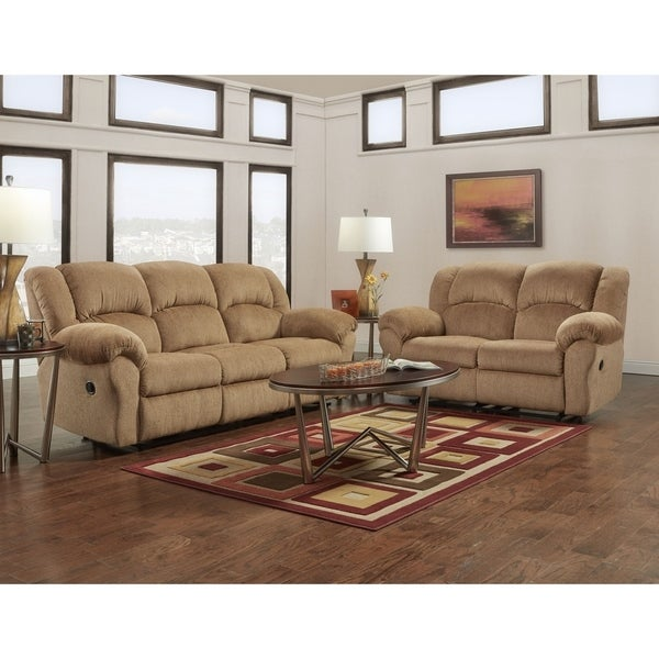 Delicieux Shop Copper Grove Yellowstone Beige Reclining Sofa And Loveseat Set   Free  Shipping Today   Overstock   21346583