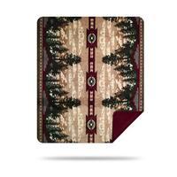 Denali Autumn Point/Merlot Blanket