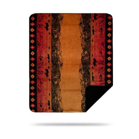 Denali Roaming Buffalo/Black Blanket