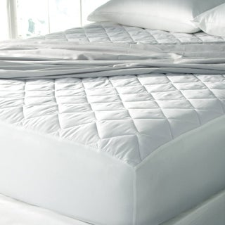 Sealy Posturepedic 300 Thread Count Every Solution Mattress Pad Plus Allergy Protection - White
