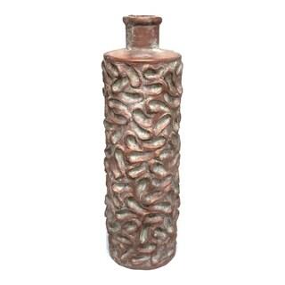 Sagebrook Home VS10082 Floor Vase, Cement Cement, 7 x 7 x 23 Inches