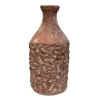 Sagebrook Home VS10081 Floor Vase, Cement Cement, 12 x 12 x 27.75 Inches