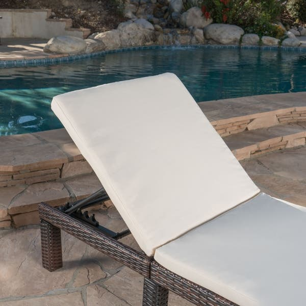 Jamaica Outdoor Water Resistant Chaise Lounge Cushion