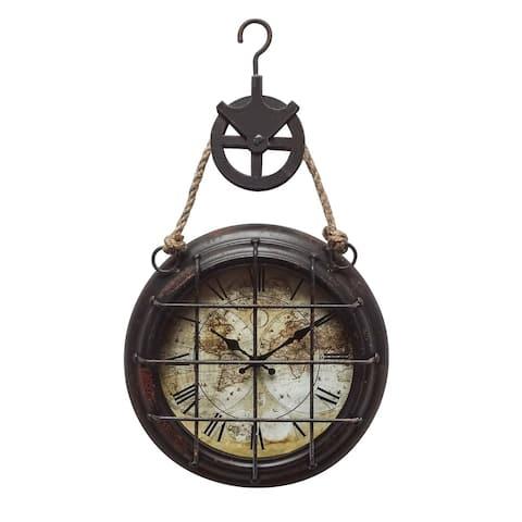 "Yosemite Home Décor ""Dockyard"" Wall Clock"