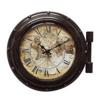"Yosemite Home Décor ""Old World"" Wall Clock - N/A"