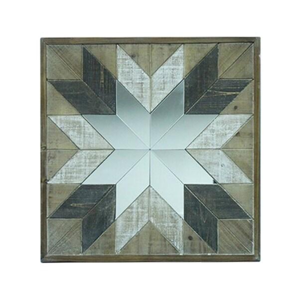 Shop Sagebrook Home 12970-02 Wood Wall Decoration, Multi, Window Box ...