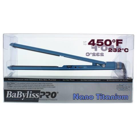 BaBylissPRO Nano Titanium Ultra-Thin 1-inch Flat Iron