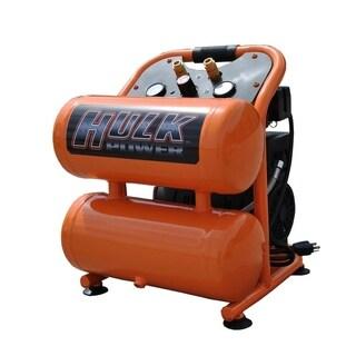 Hulk by EMAX 1.5hp 4 Gal. Silent Air Portable Compressor - Orange