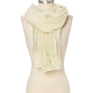 "Women Soft Scarf Scarves Wrap Stole Sequin Glitter Beaded Evening Prom Wedding - 29""x74"""