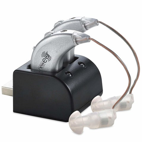 Digital Hearing Amplifiers Rechargeable BTE Personal Sound Amplifier