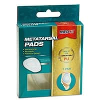 Metatarsal Foot Pads 2-pieces Gel Pad Ball of Foot Pads
