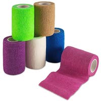 MEDca Self Adherent Cohesive Wrap Bandages 3-inches x 5-yards