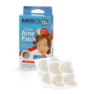 Cheek Size Acne Spot Treatment Hydrocolloid Bandage Face