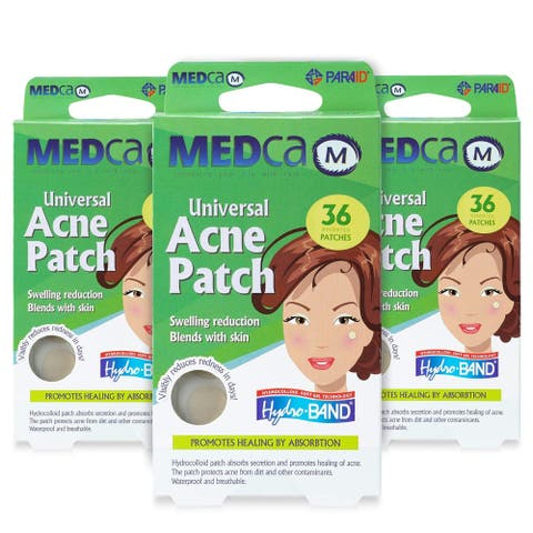 MEDca Acne Pimple Patch Blackheads Removing Absorbing Treatment Cover Ultra Deep Cleansing Hydrocolloid Bandages - Count of 108