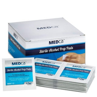 MEDca Alcohol Prep Pads Sterile Medium 2-Ply (Pack of 200)