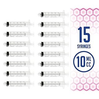 MEDca 10ml Oral Syringe with Cover No Needle (Pack of 15)