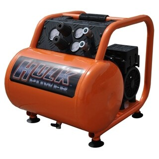 Hulk by EMAX 1.5hp 5 Gal. Silent Air Portable Compressor - Orange