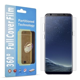 Samsung Galaxy S8 Plus Wide Cover Tpu Screen Protector - Clear