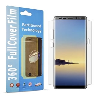 Samsung Galaxy Note 8 Wide Cover Tpu Screen Protector - Clear