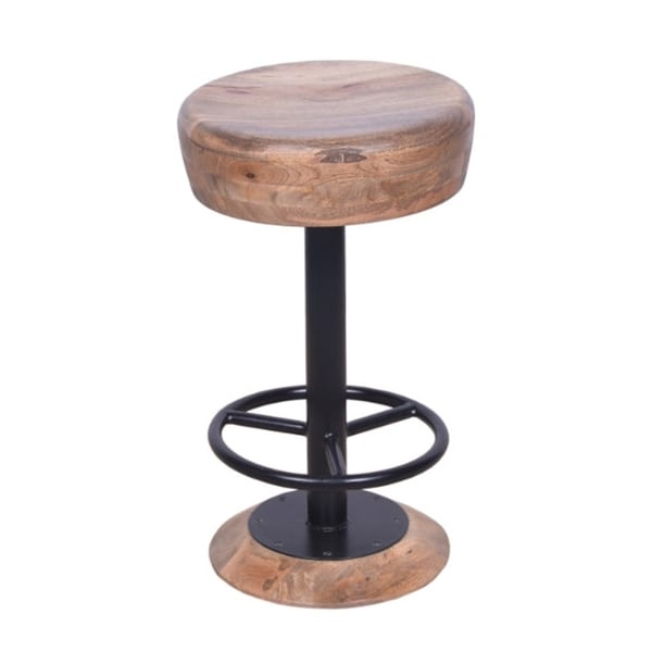 Style Adjule Swivel Counter Height Stool With