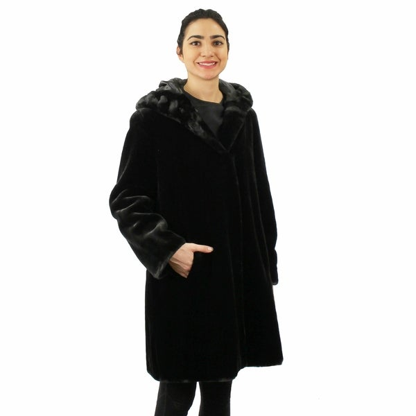 Faux Beaver Short Coat