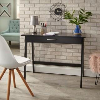 Simple Living Rollins Desk (Option: Black)