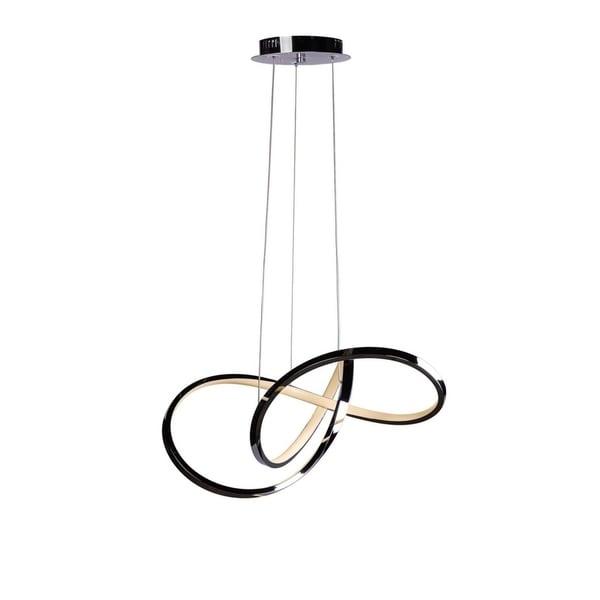 Circular Design- round LED Chandelier - Chrome