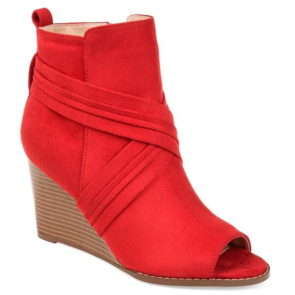 dbf306c1213 Shop Journee Collection Women s  Sabeena  Wedge Booties - On Sale ...