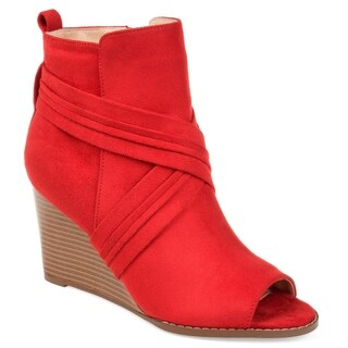 Journee Collection Women's 'Sabeena' Wedge Booties