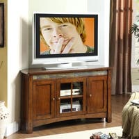 Craftsman Home Corner TV Console - 52 inches