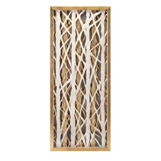 Link to Wren Dimensional Gold Metallic Wall Art Similar Items in Wall Sculptures