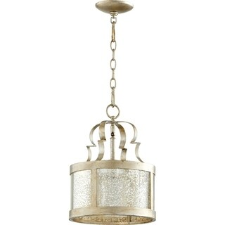 Champlain Aged Silver and Vintage Champagne 1-light Pendant
