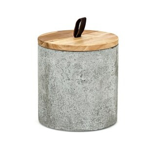 Becker Grey Tall Lidded Box