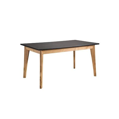 Rustic Mid-Century Modern Jackie 6-Seating Dining Table