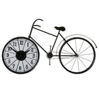 Bicycle Wheel Wall Clock.