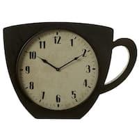 Coffee Cup Wall Clock.