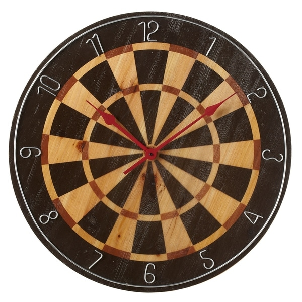 Shop Dart Board Wall Clock Free Shipping Today