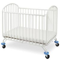 LA Baby The Folding Arched Mini/Portable Crib