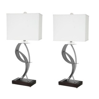 "Van Teal 630572PR Lady Clara 33"" Table Lamps (Set of 2)"