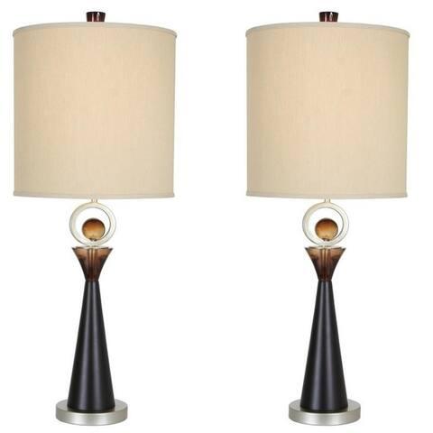 "Van Teal 130772PR Occasion 36"" Table Lamps (Set of 2)"
